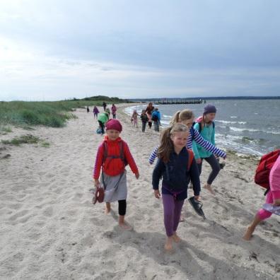 Tanzferien Greifswald Strandwanderung